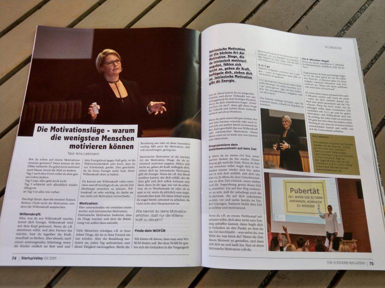 Kira Liebmann in der Presse